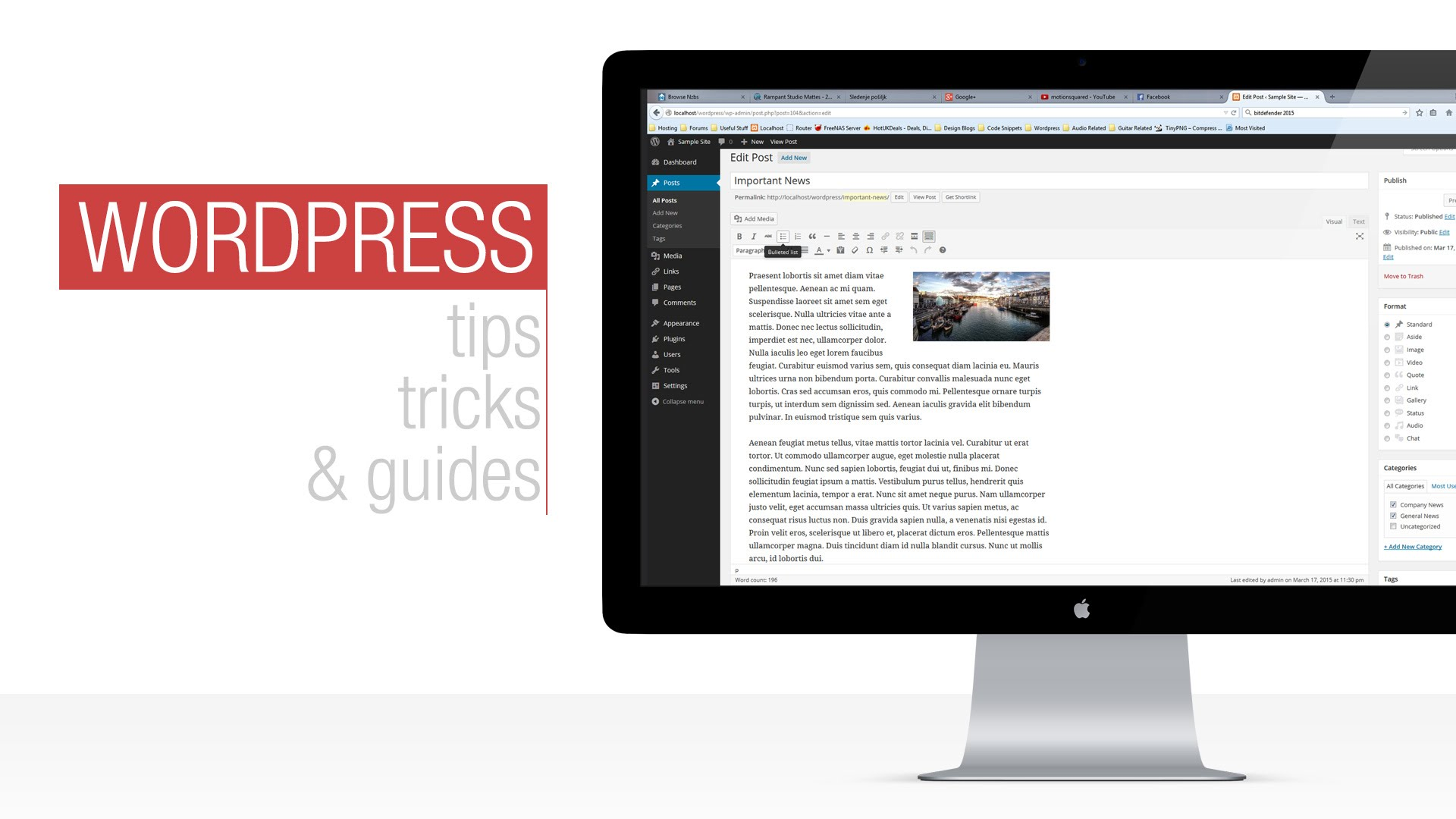 WordPress Tutorial: Visual Composers Text Blocks