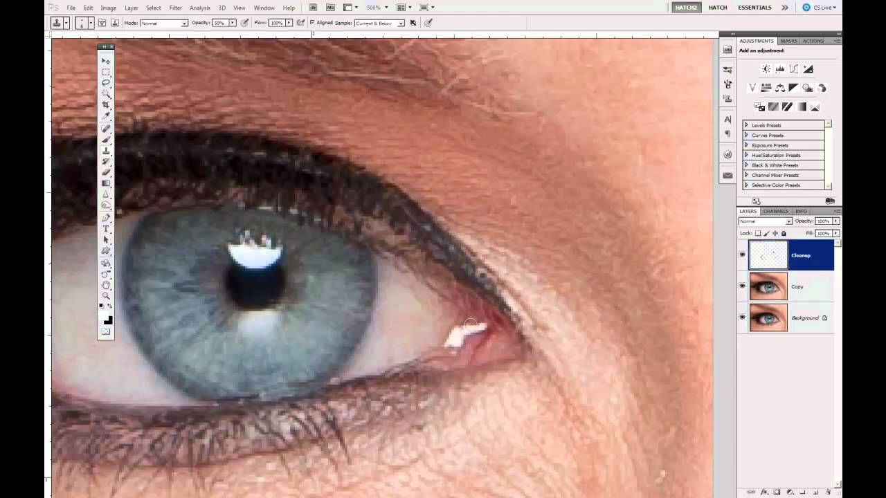 Enhancing the Eyes with Photoshop