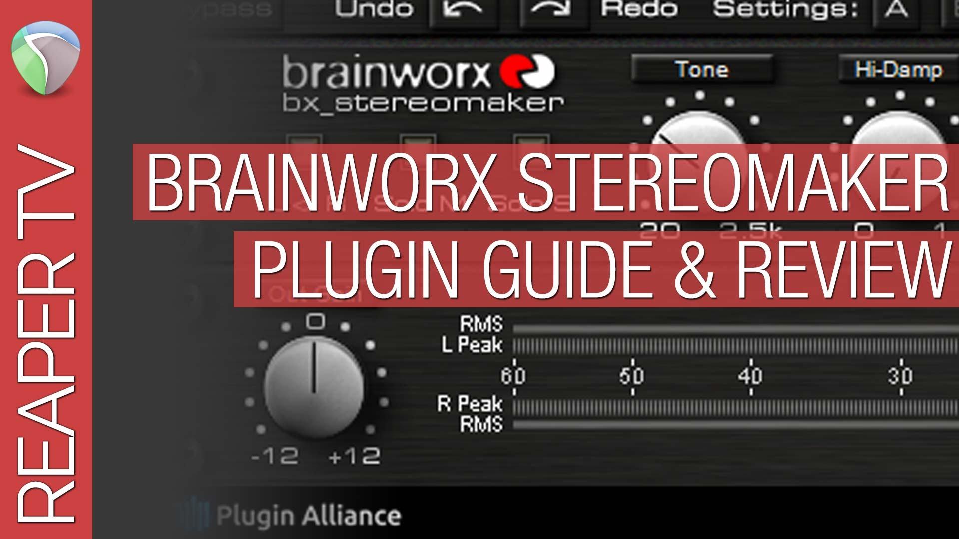 Reaper & Brainkworx bx_Stereomaker Guide