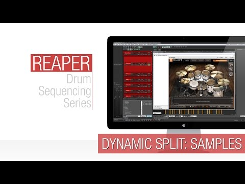Reaper Tutorial: Dynamic Split – Samples (Drum Replacement)