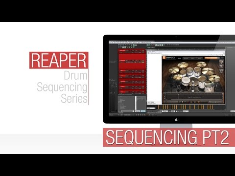 Reaper Tutorial: Midi Drum Sequencing Part 2
