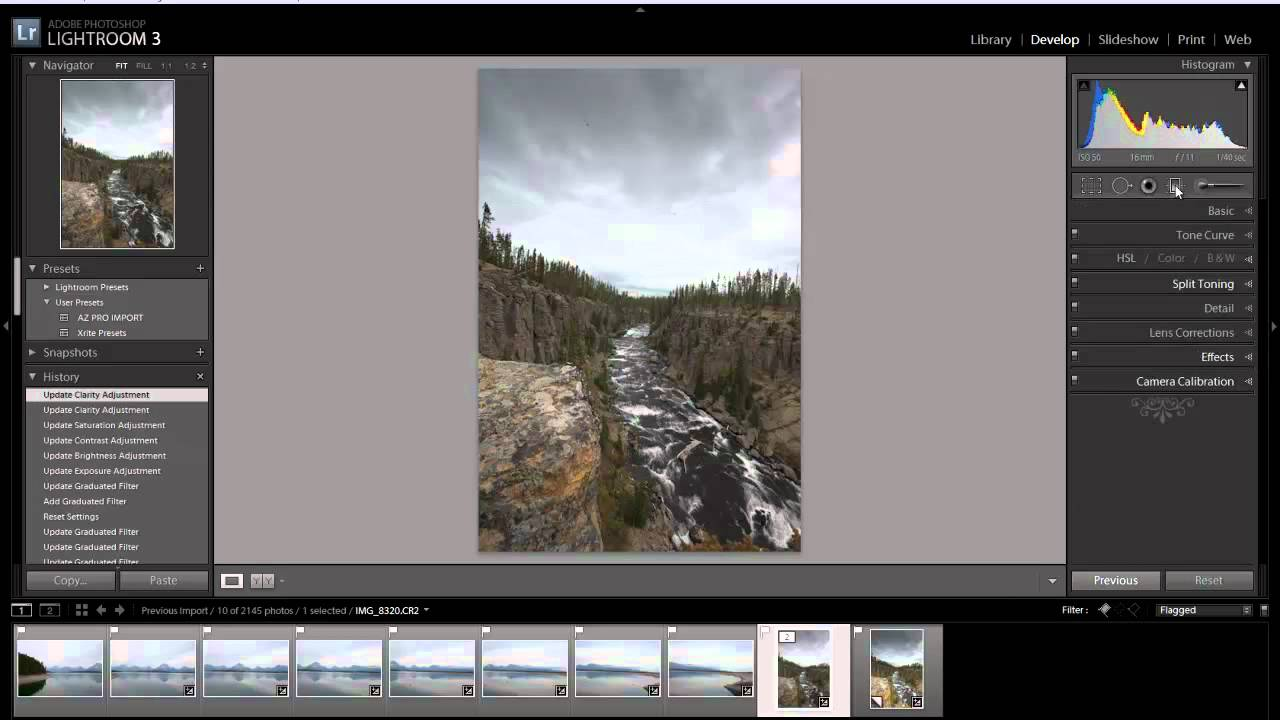 Lightroom 3 – Graduated Filter – Bring life back to a photo