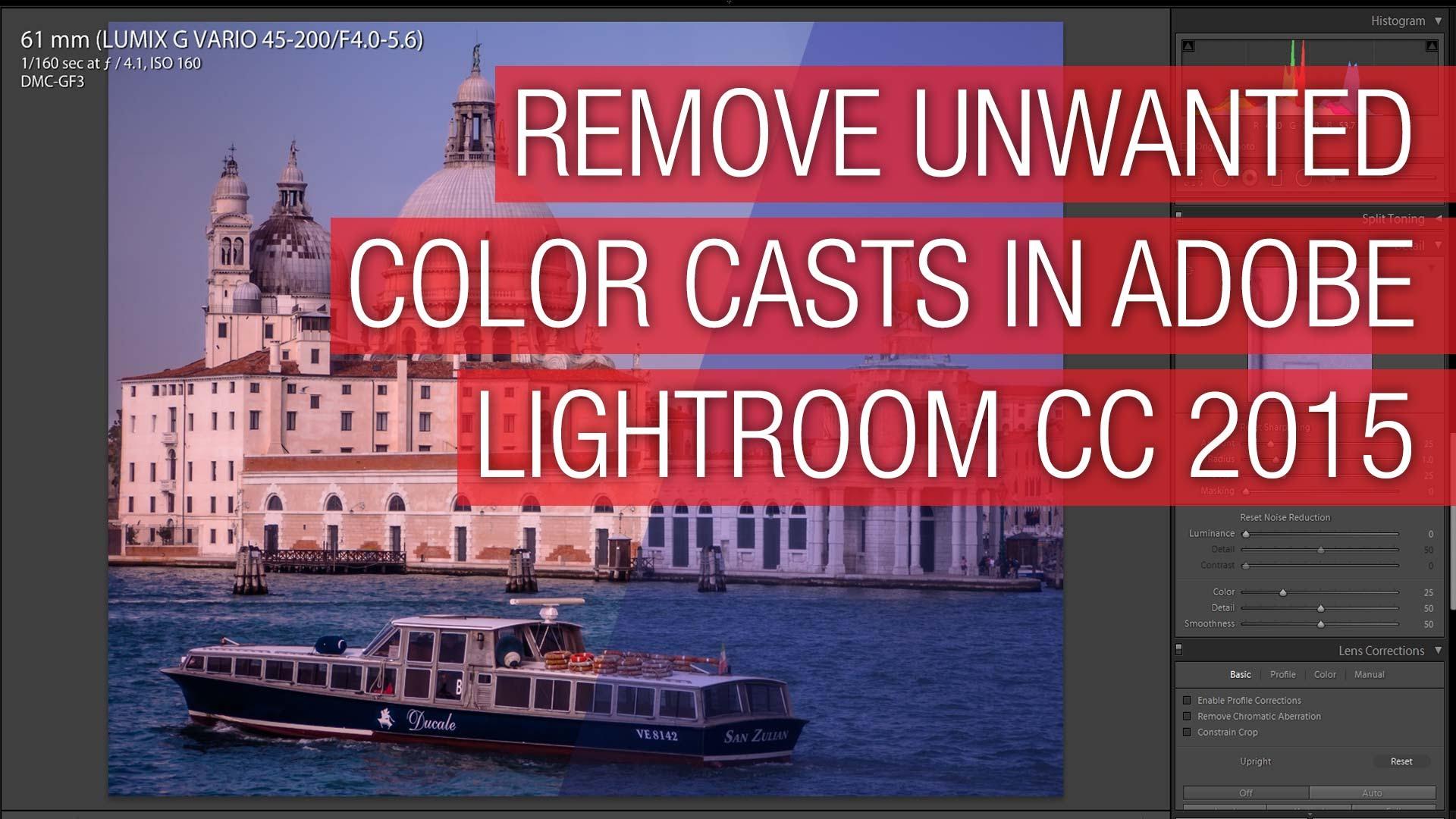 Quickly Remove Color Casts in Adobe Lightroom