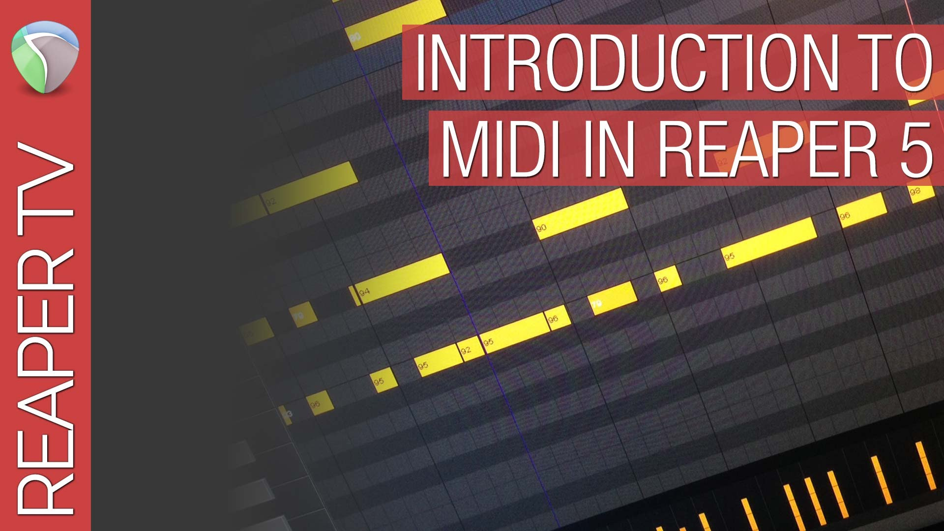 Introduction to midi in Reaper DAW
