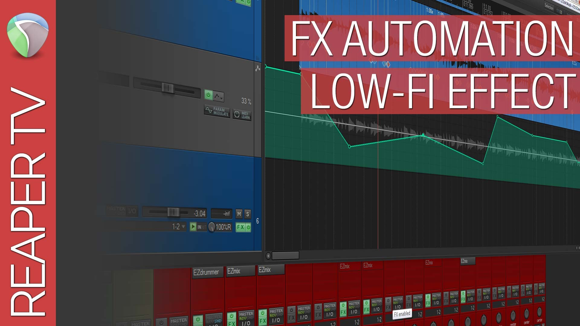Reaper Tutorial: FX Automation (LoFi)