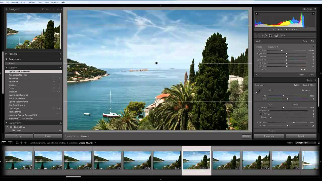 Image Enhancement with Adobe Lightroom 3