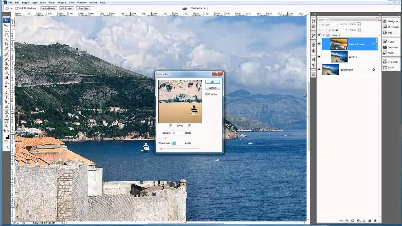 Photoshop Tips & Tricks – Using Blur to Sharpen