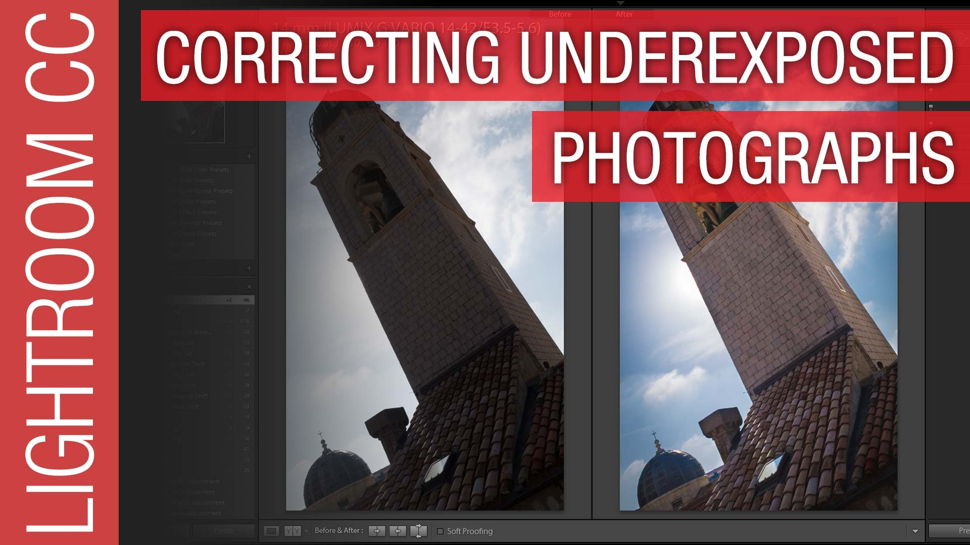 How To Correct Underexposed Photographs in Adobe Lightroom CC