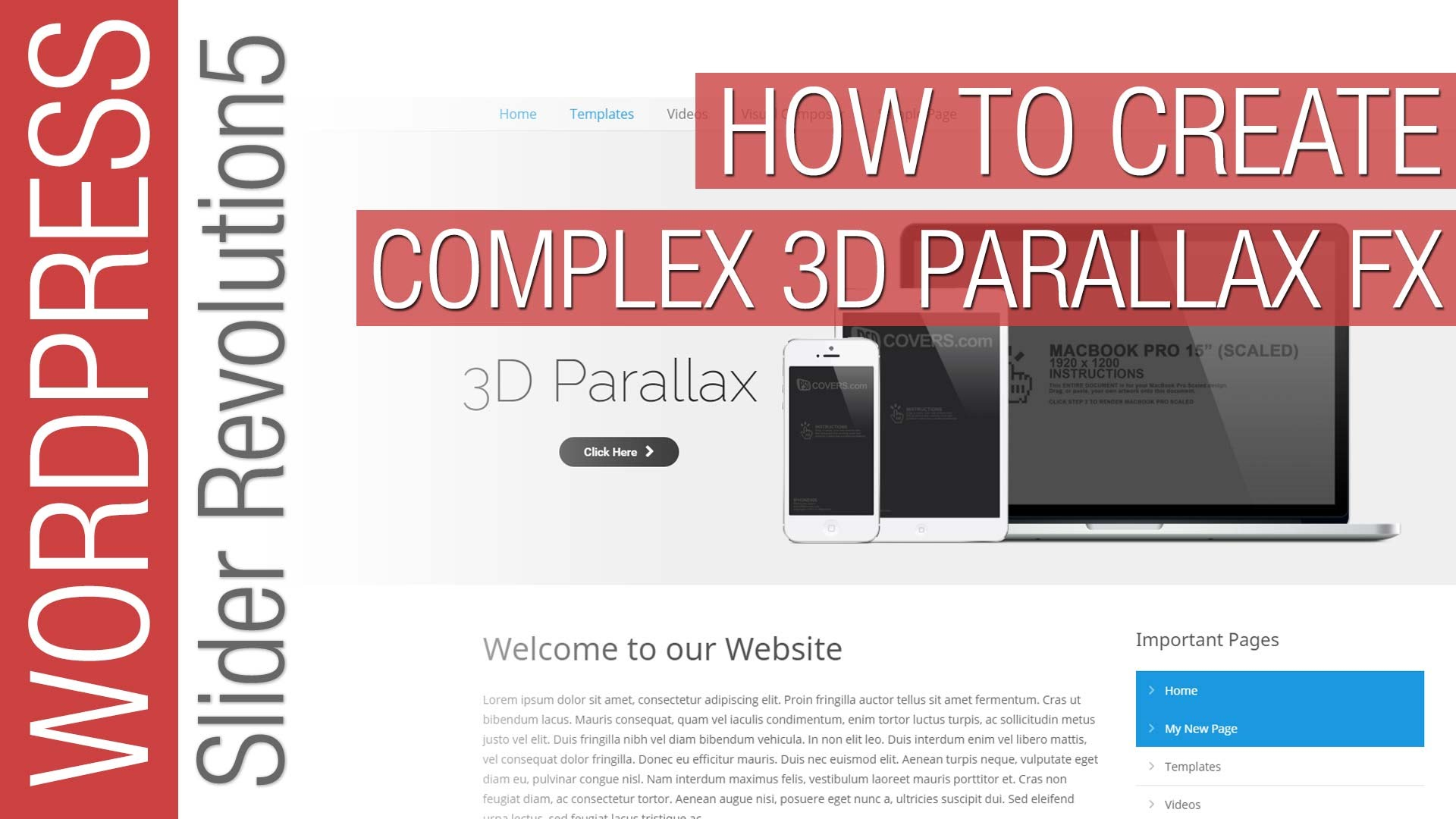 How To Create Complex Parallax in Slider Revolution 5