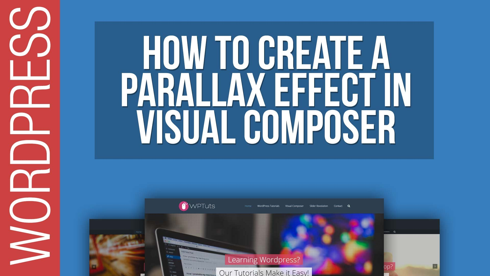 How To Create Parallax Row Backgrounds in Visual Composer for WordPress 2016