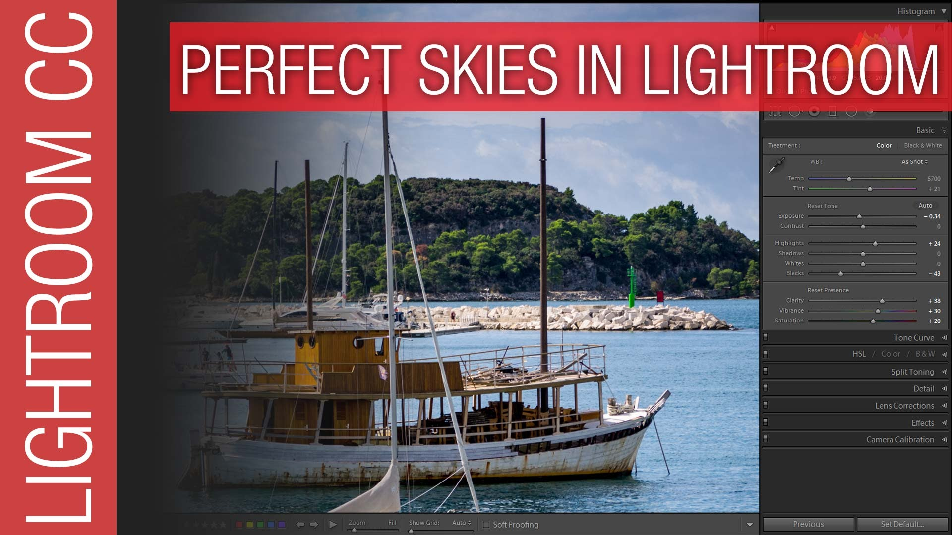 How To Create Great Skies in Adobe Lightroom