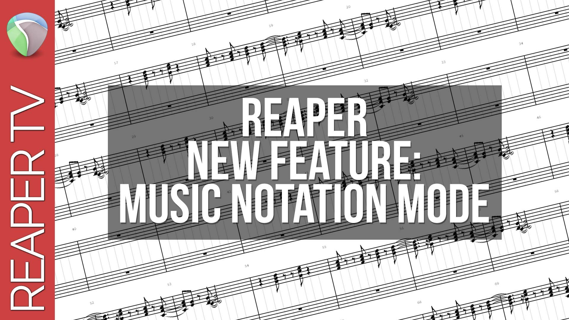 New Reaper Feature: Music Notation View