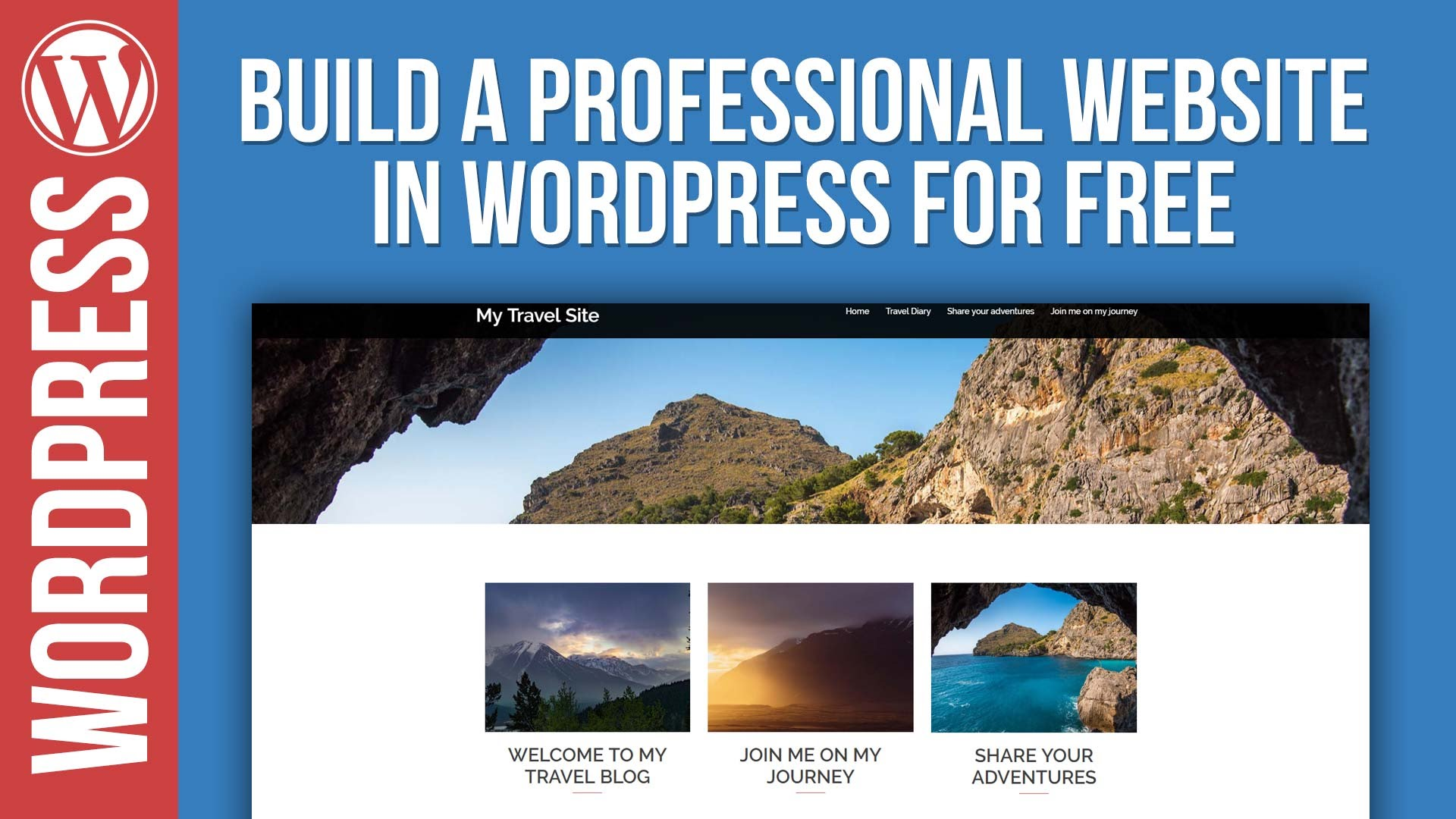 Build a Professional WordPress Website for Free