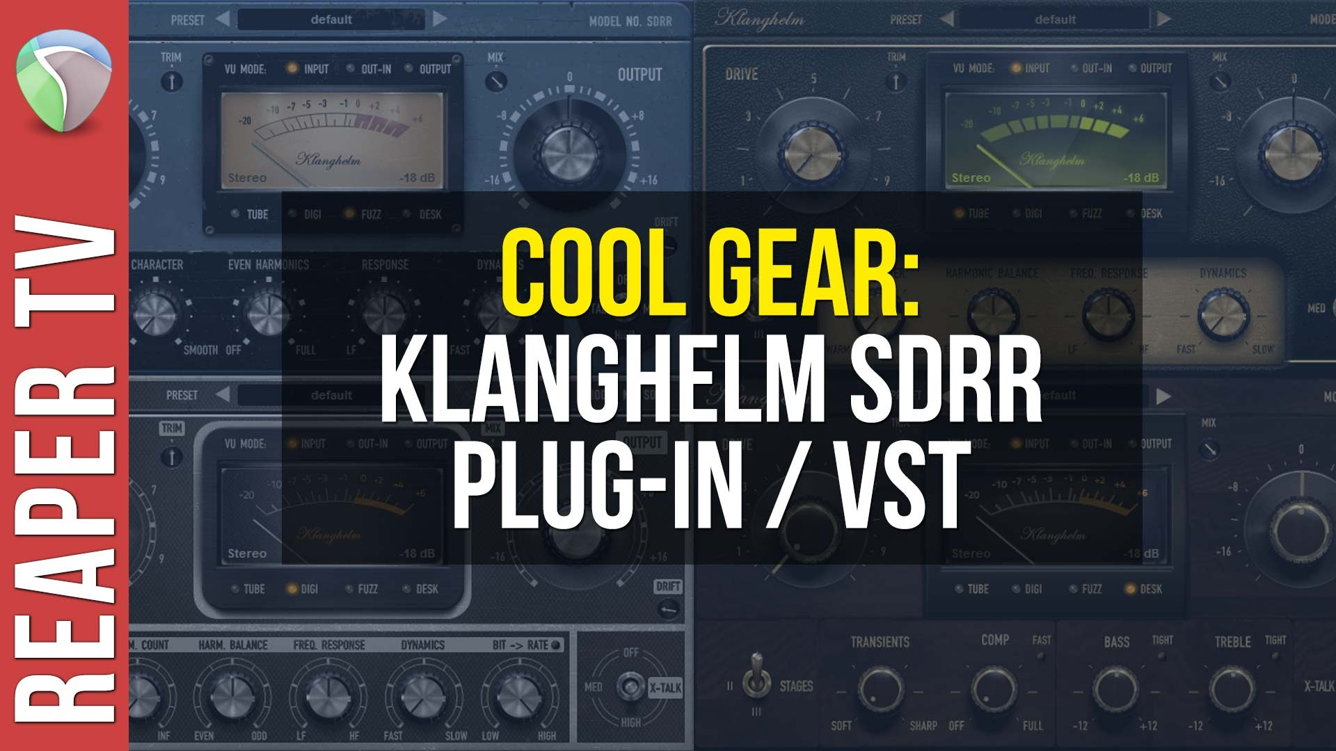 Cool Gear Demo – Klanghelm SDRR – Affordable Saturation Plugin