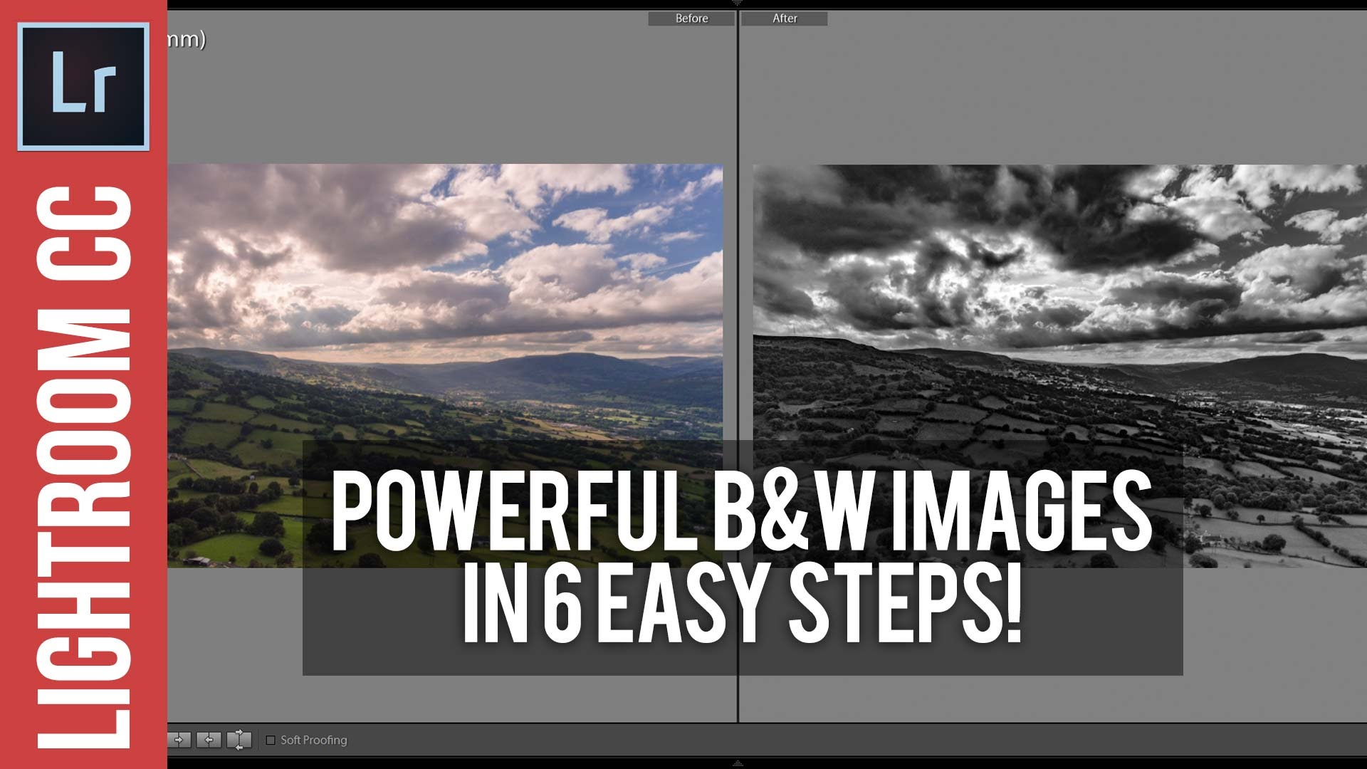 Lightroom Tutorial: Create Dramatic Black and White Photos with 6 Sliders