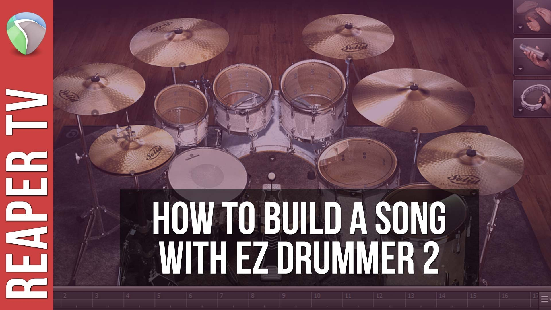How To Build A Song With EZ Drummer 2