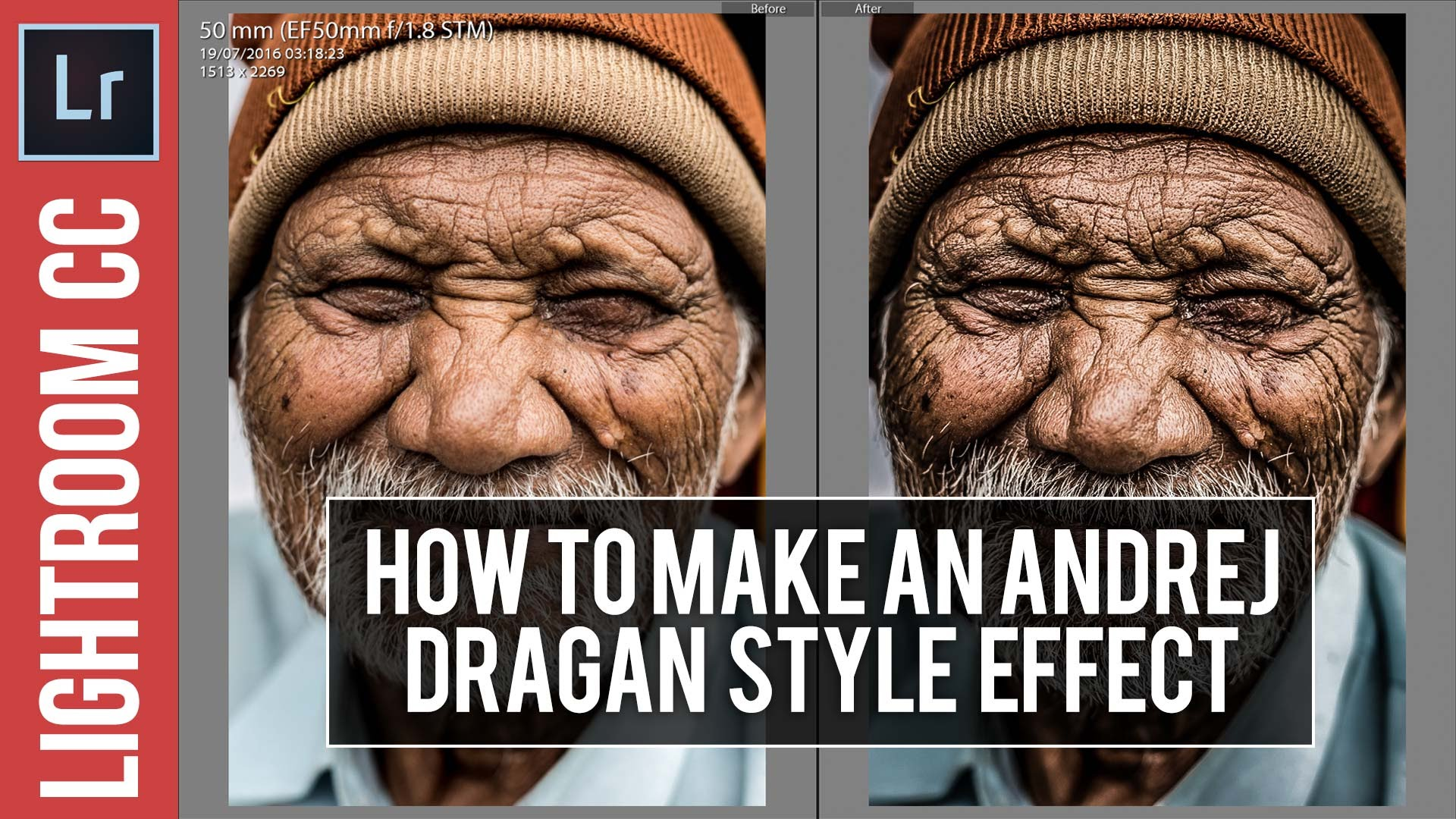 Super High Contrast Dragan Style Tutorial for Lightroom – Free Preset Included