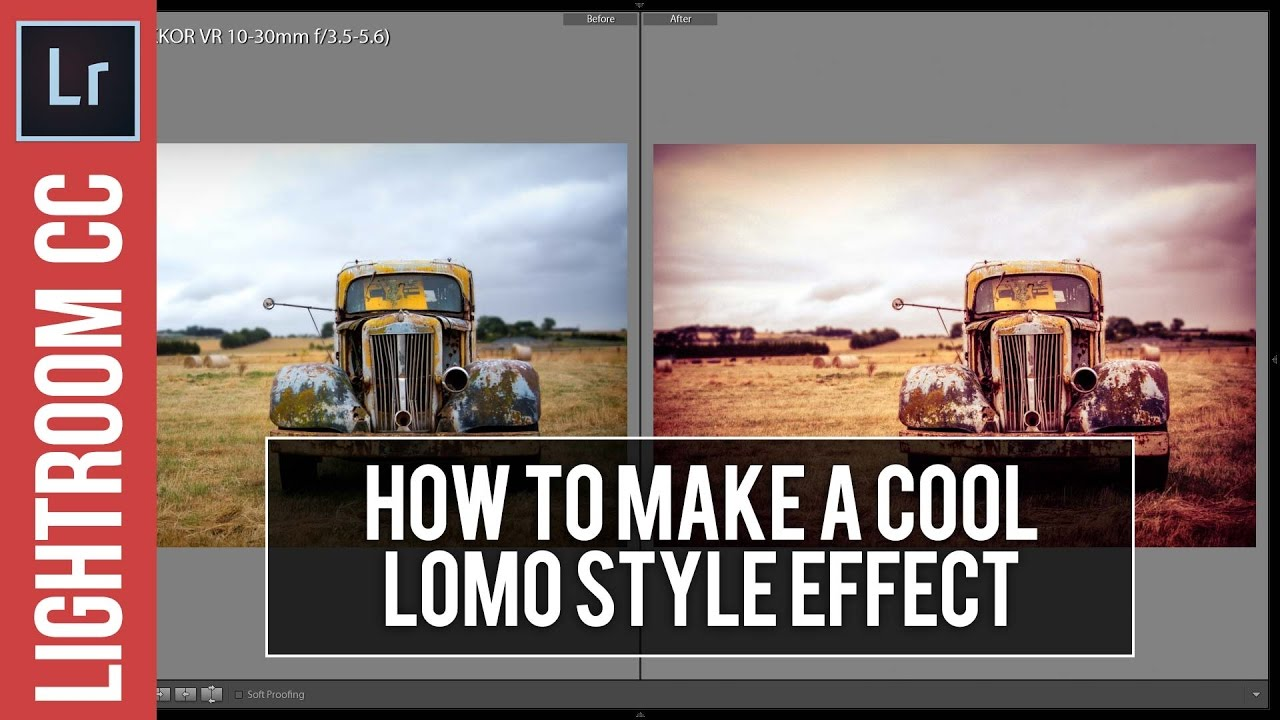 How to create a beautiful Lomo Photo Effect in Lightroom