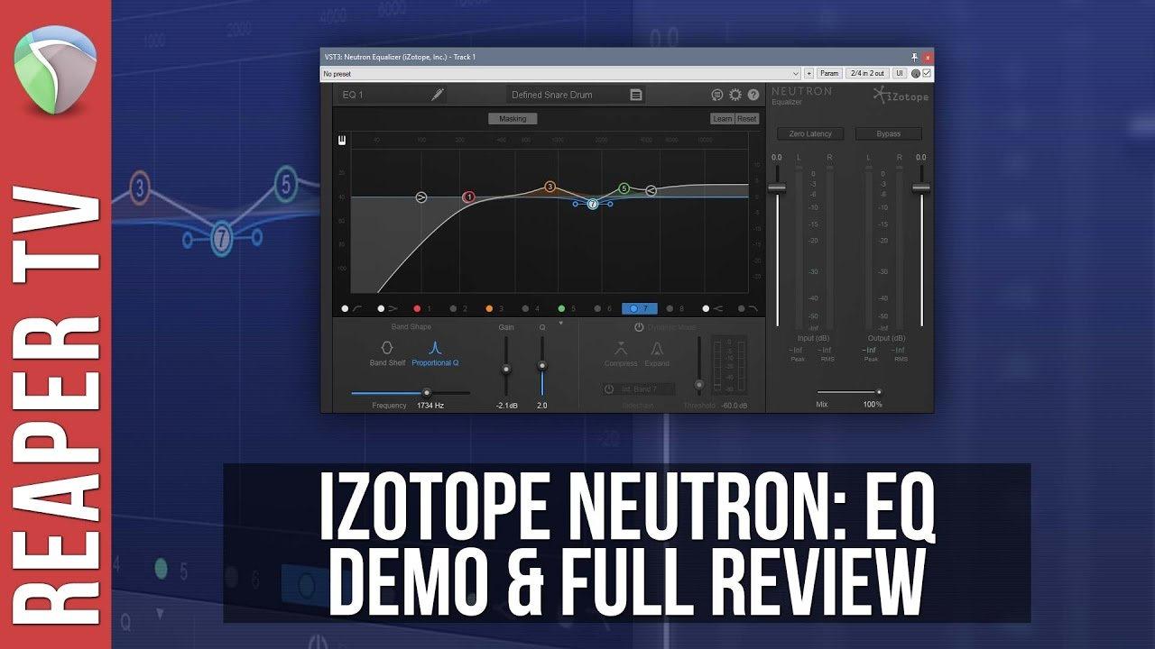 iZotope Neutron Advanced EQ: Full Demo & Review