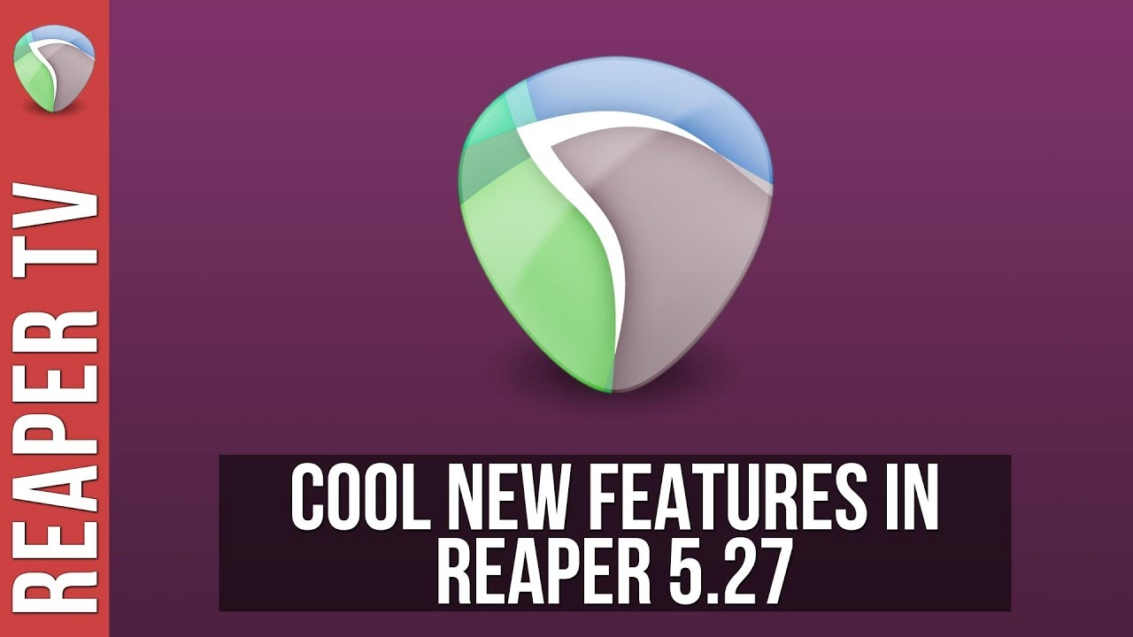 New Features in Reaper DAW 5.27 – Output Music Notation to PDF & More…
