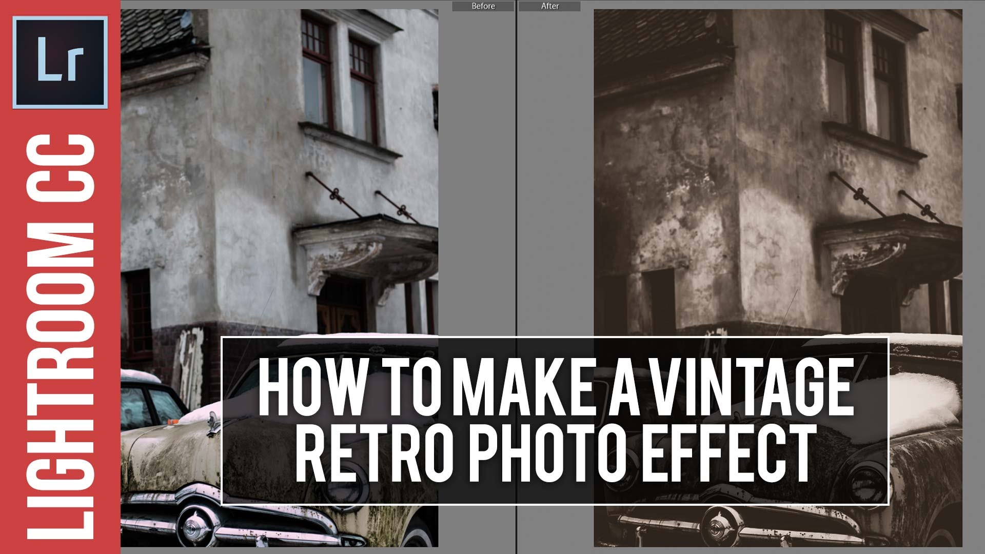 Lightroom Tutorial: Retro / Vintage Photo Effect & Free Preset