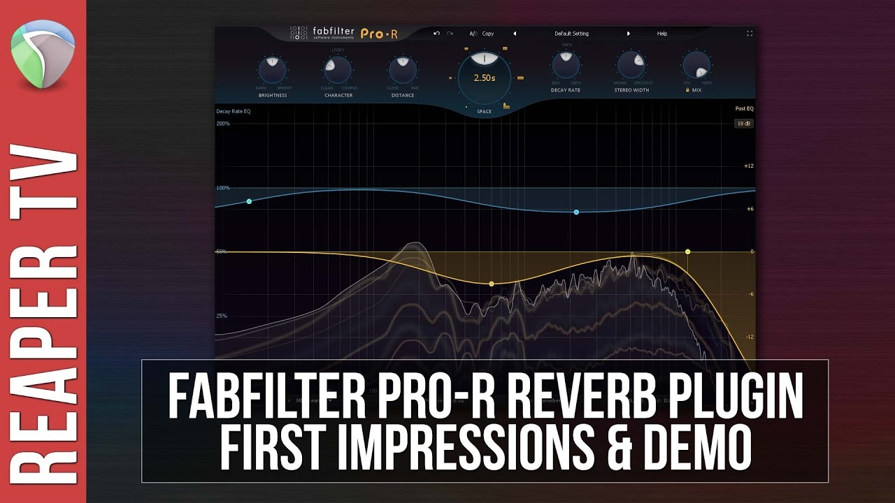 Fabfilter Pro-R Reverb Plugin Review & Demo