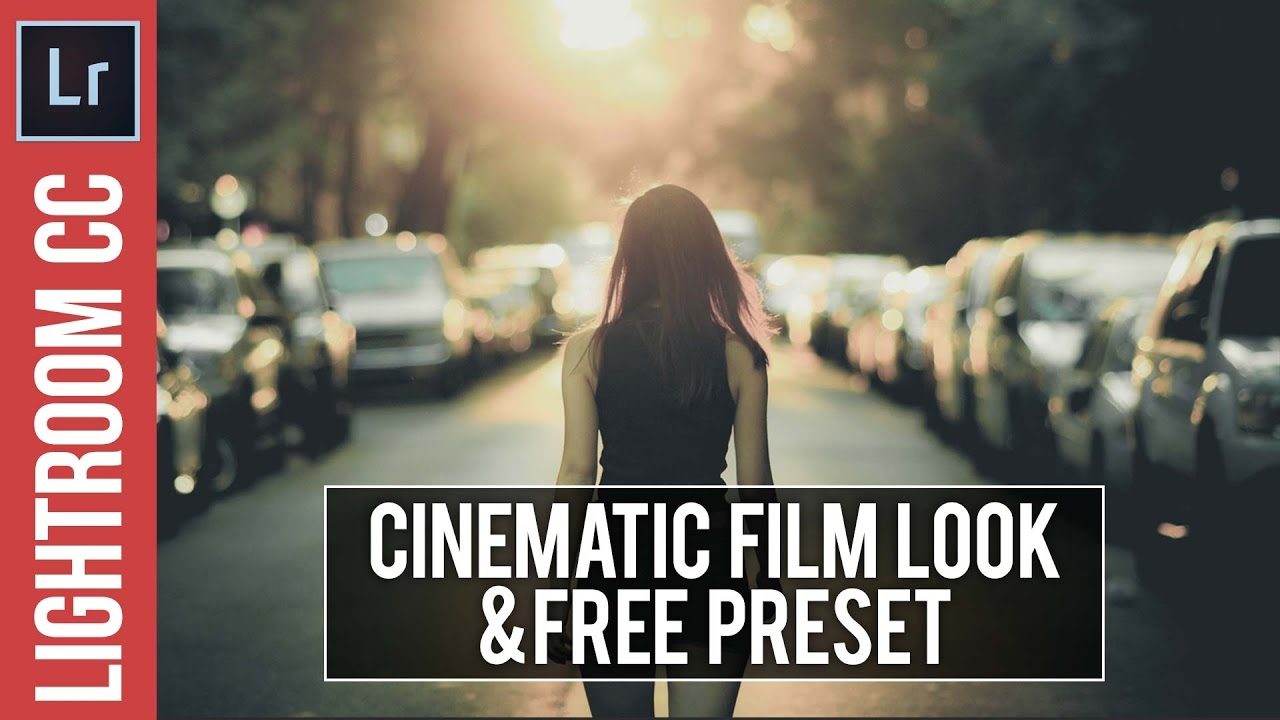 Lightroom Tutorial: Cinematic Look & FREE Preset