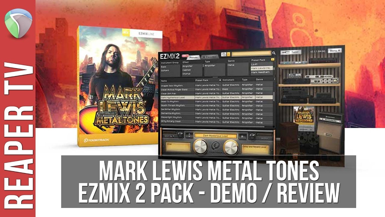 Ezmix 2 Mark Lewis Metaltones Demo / Review