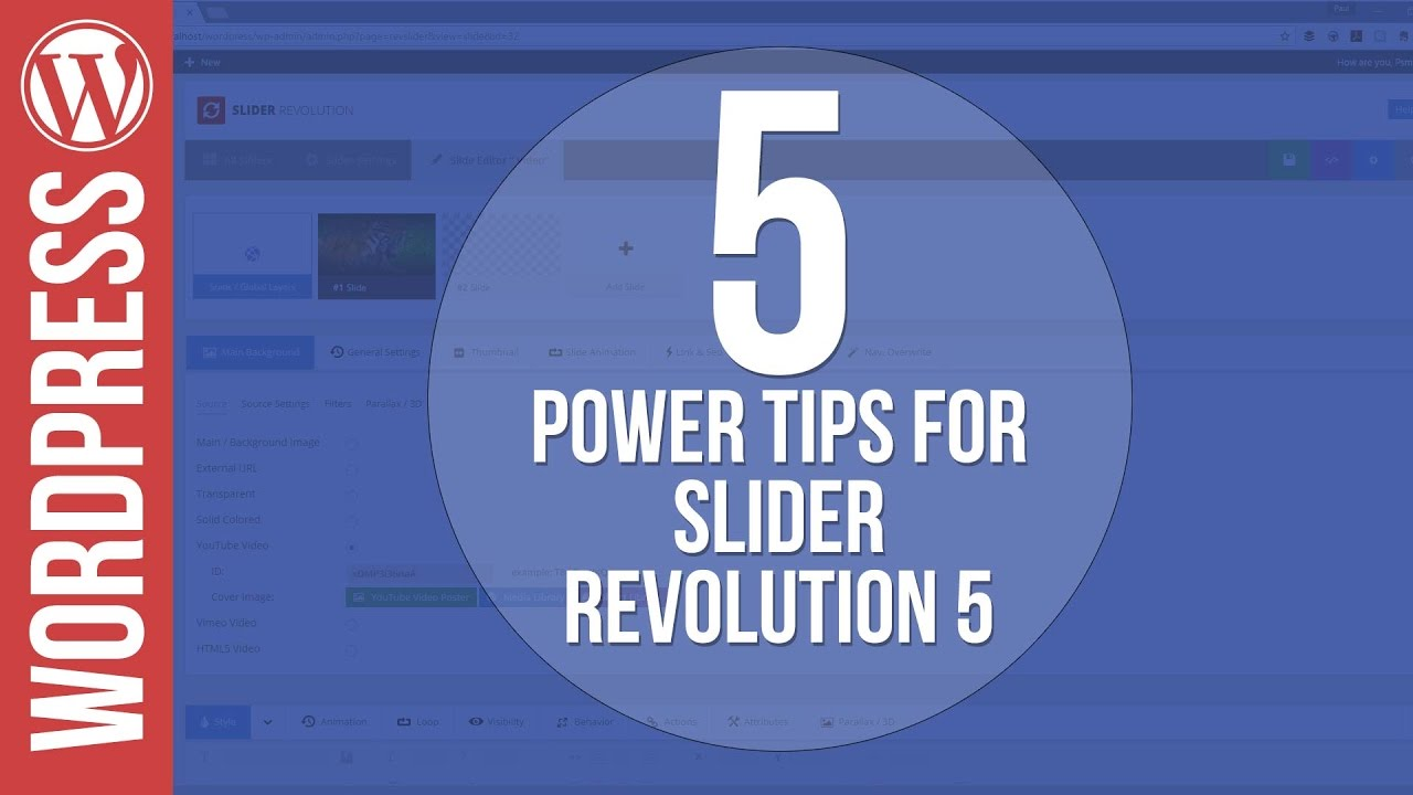 5 Power Tips for Slider Revolution 5 for WordPress