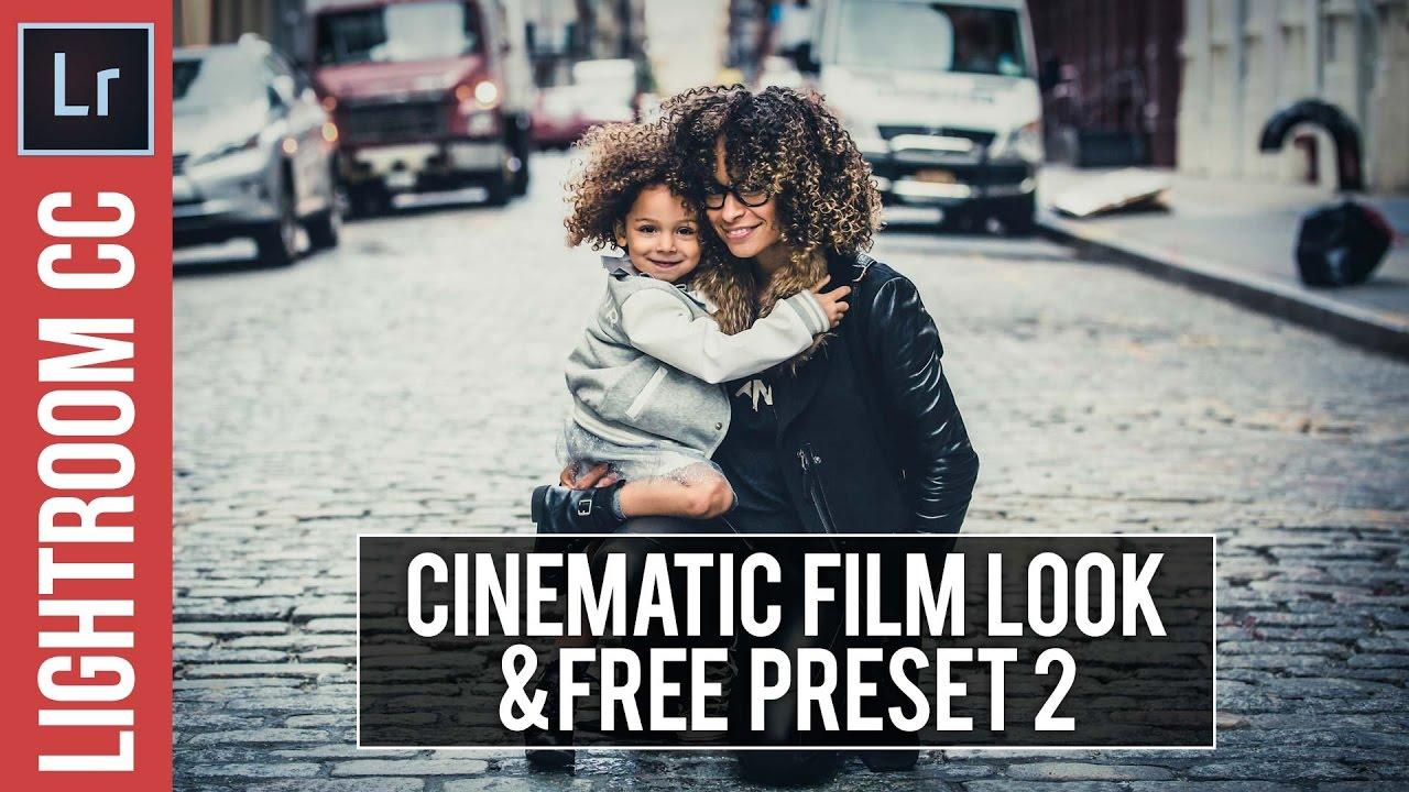 Lightroom Tutorial: Cinema Look 2 & FREE Preset