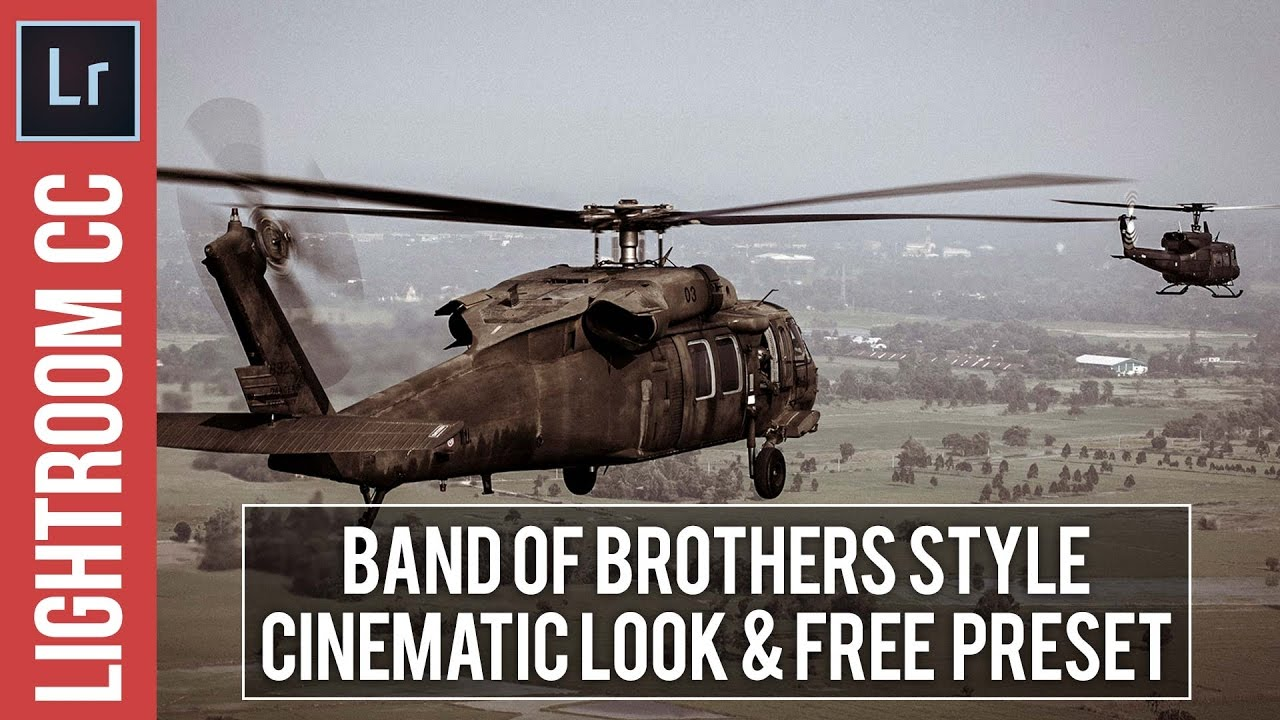 Lightroom Tutorial: Cinematic Band of Brothers Style & Free Preset