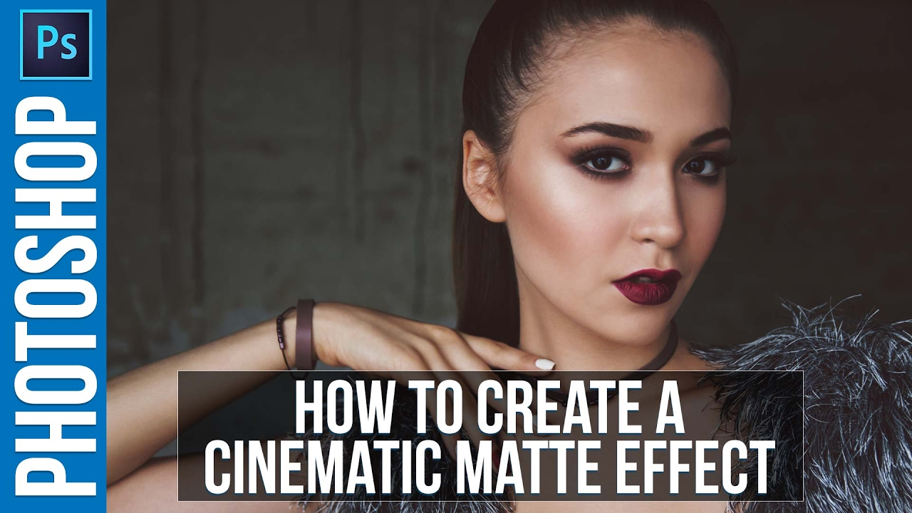 Photoshop Tutorial: Cinematic Matte Effect