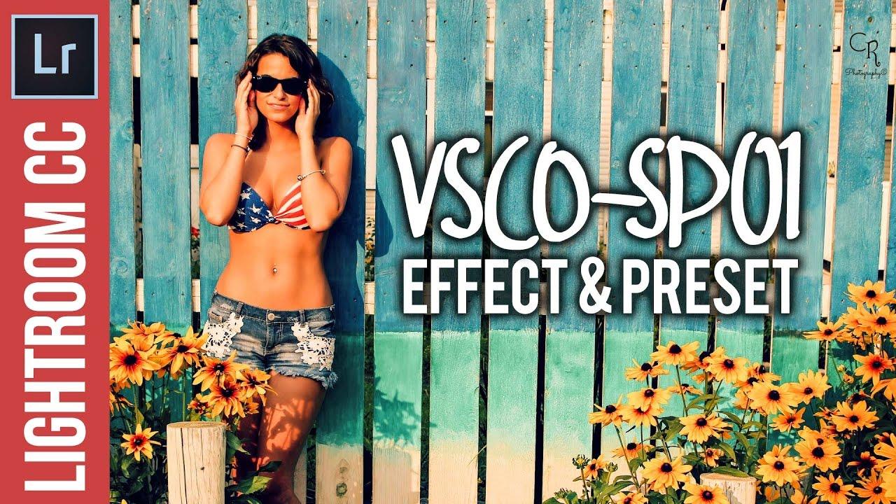 Lightroom Tutortial: Create a VSCO-SP01 Inspired Effect