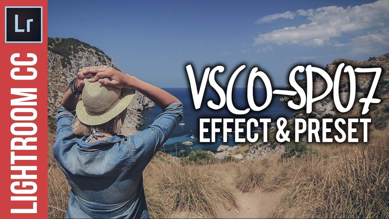 Lightroom Tutotial: VSCO SP-07 Inspired Look