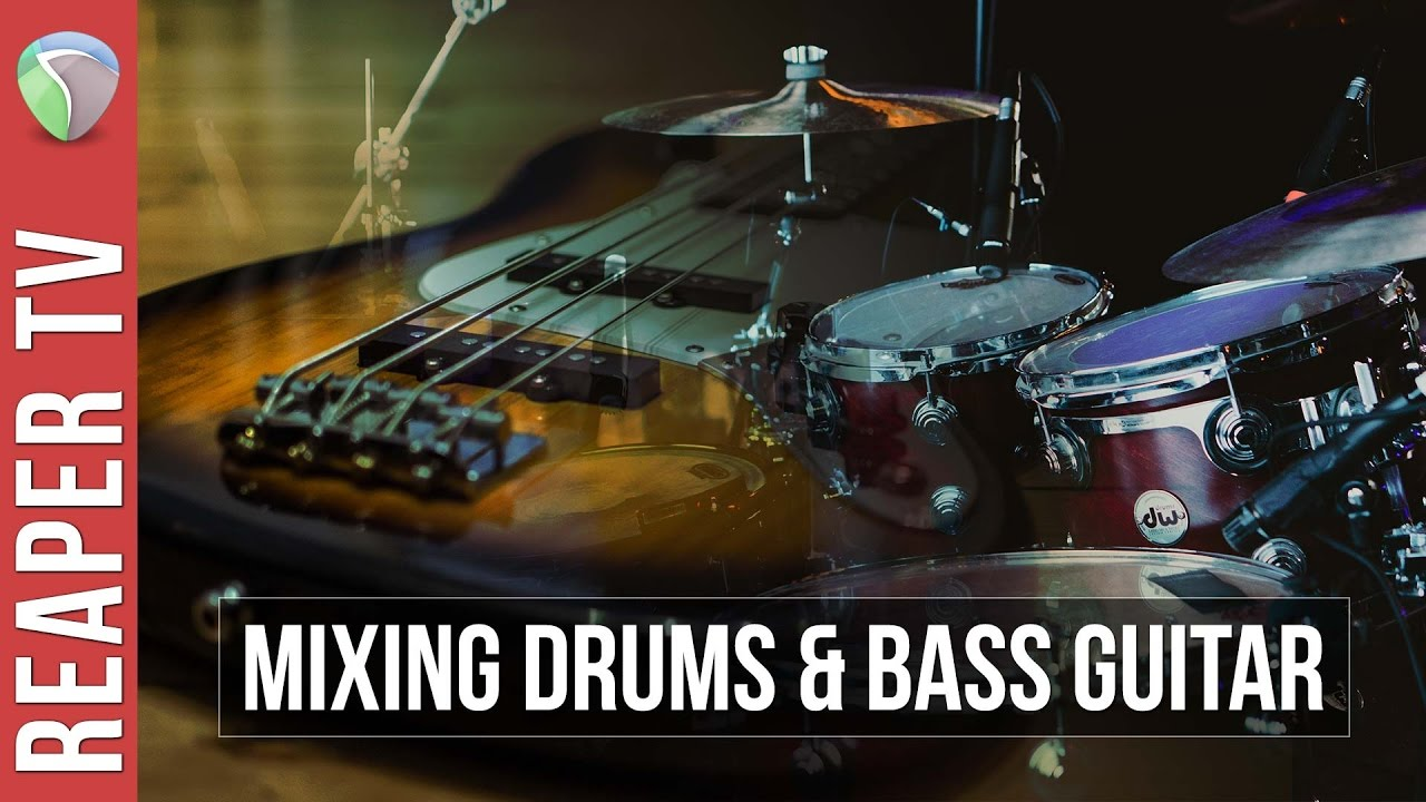 2 Methods for Mixing Drums and Bass Guitar