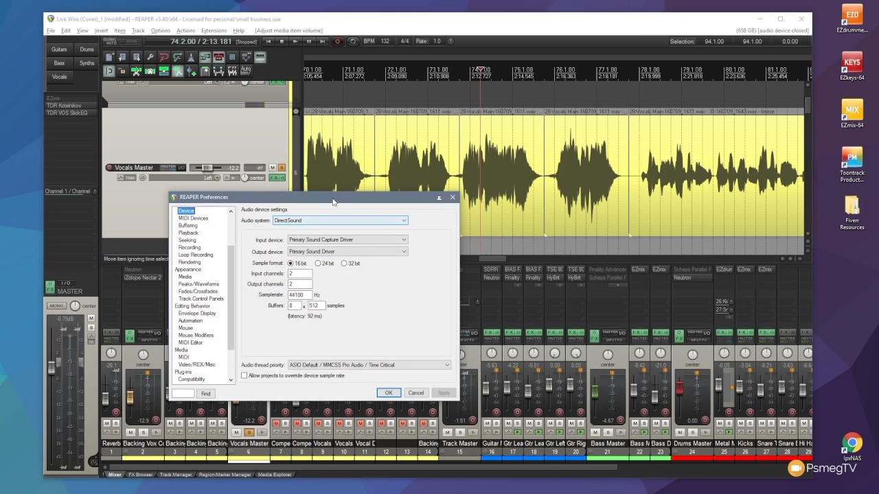 Reaper: Quick Edit Volume Levels – Inline Audio Editing