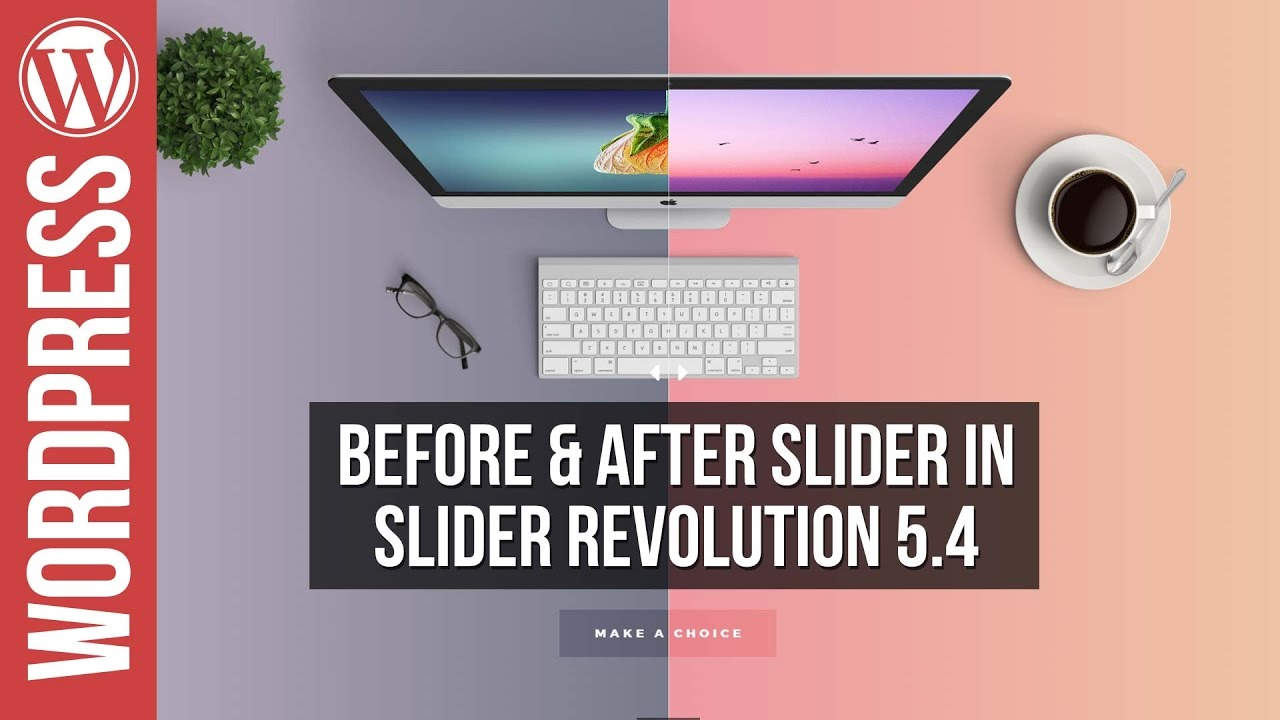 Slider Revolution 5: NEW Before & After Slider Tutorial