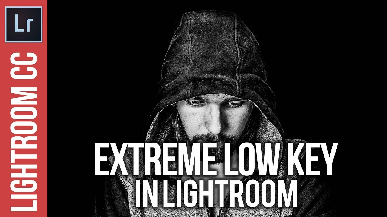 Extreme Low Key Images with Lightroom