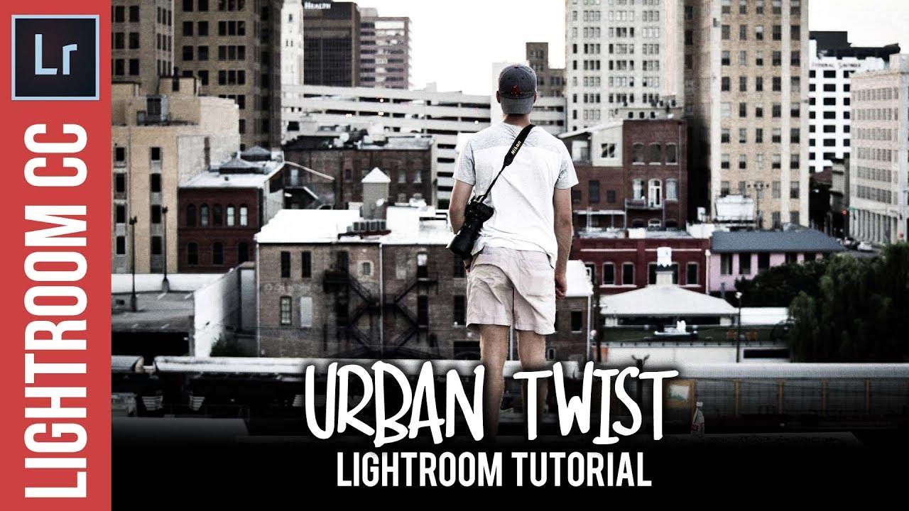 Lightroom: Urban Twist Instagram Style Tutorial
