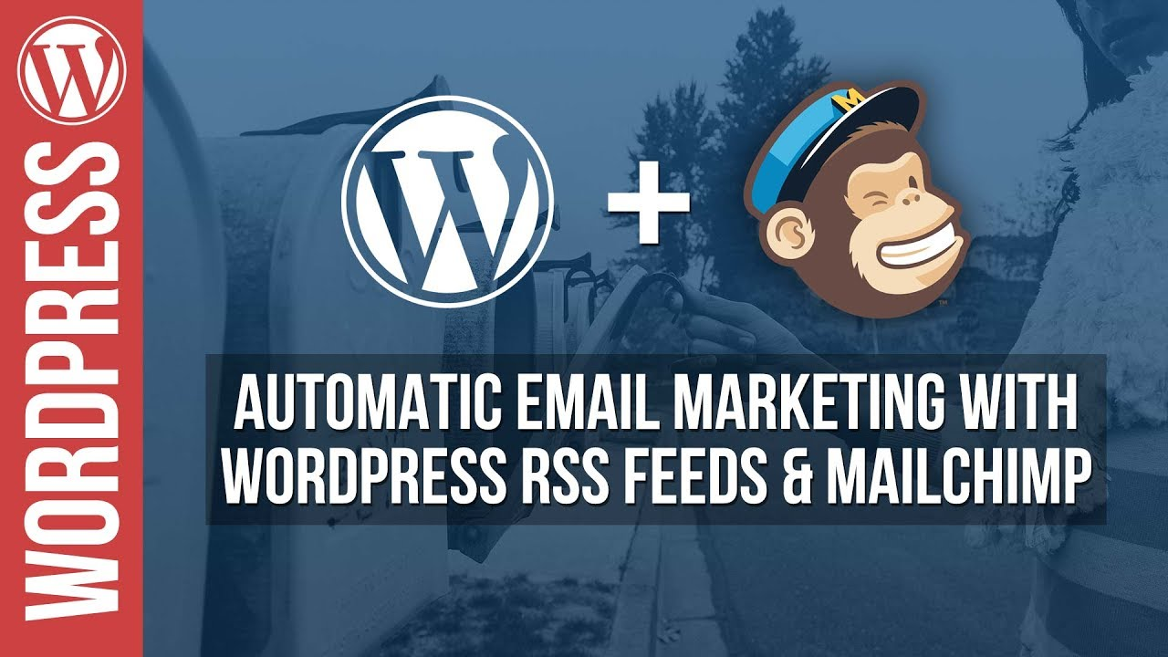 Automatically send emails from your WordPress Website with Mailchimp