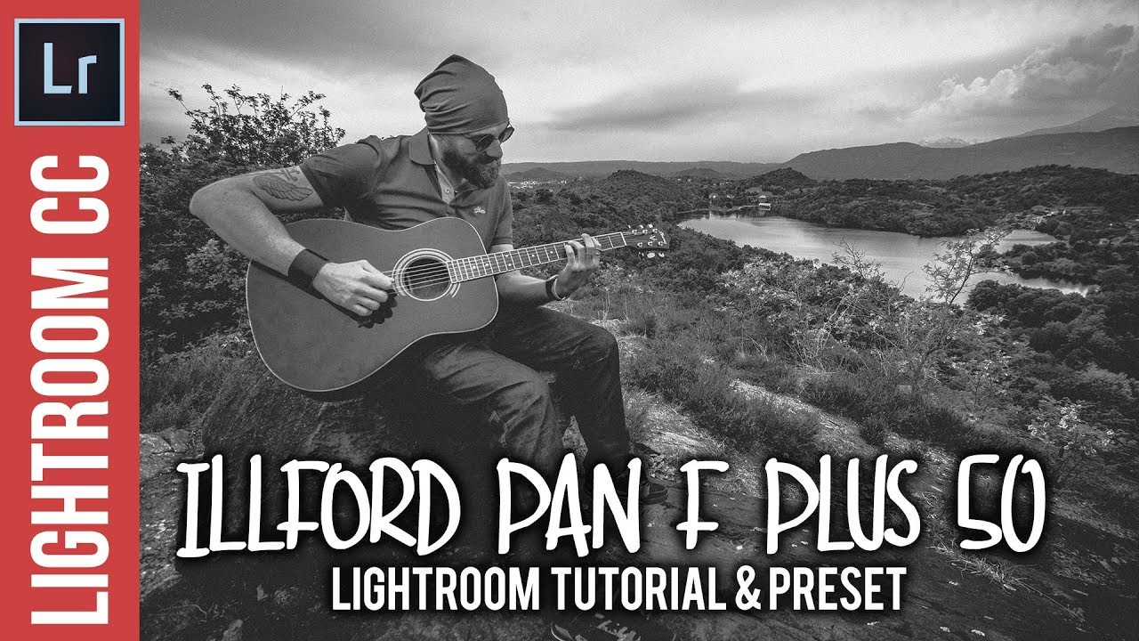 Create an Illford Pan F Plus 50 Photo Style