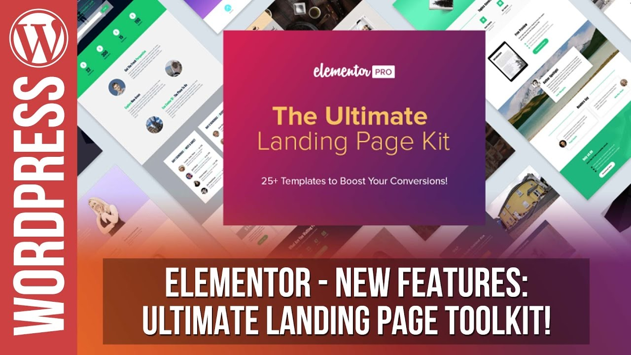 ELEMENTOR: The Ultimate Landing Pages Toolkit