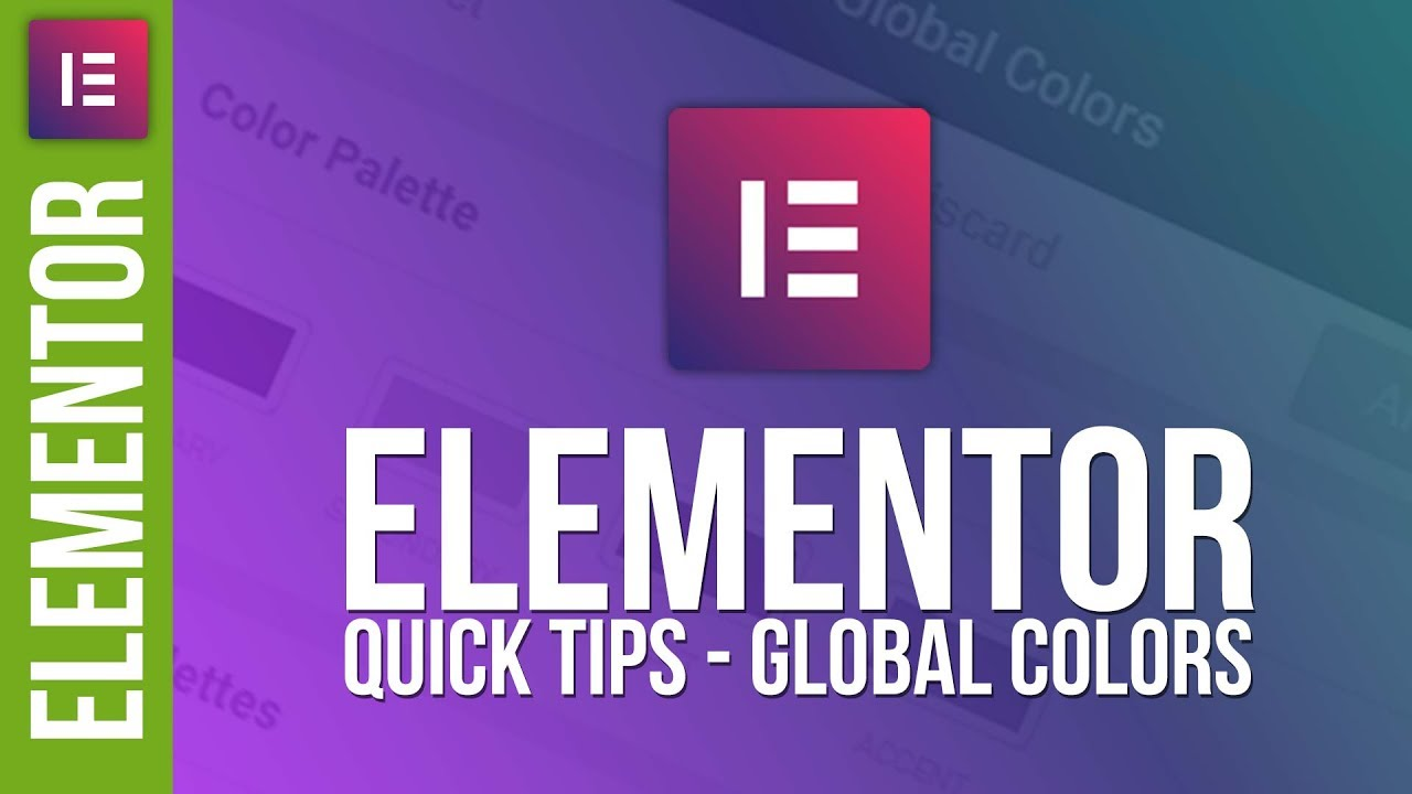 Create Awesome Colour Schemes in Elementor for WordPress