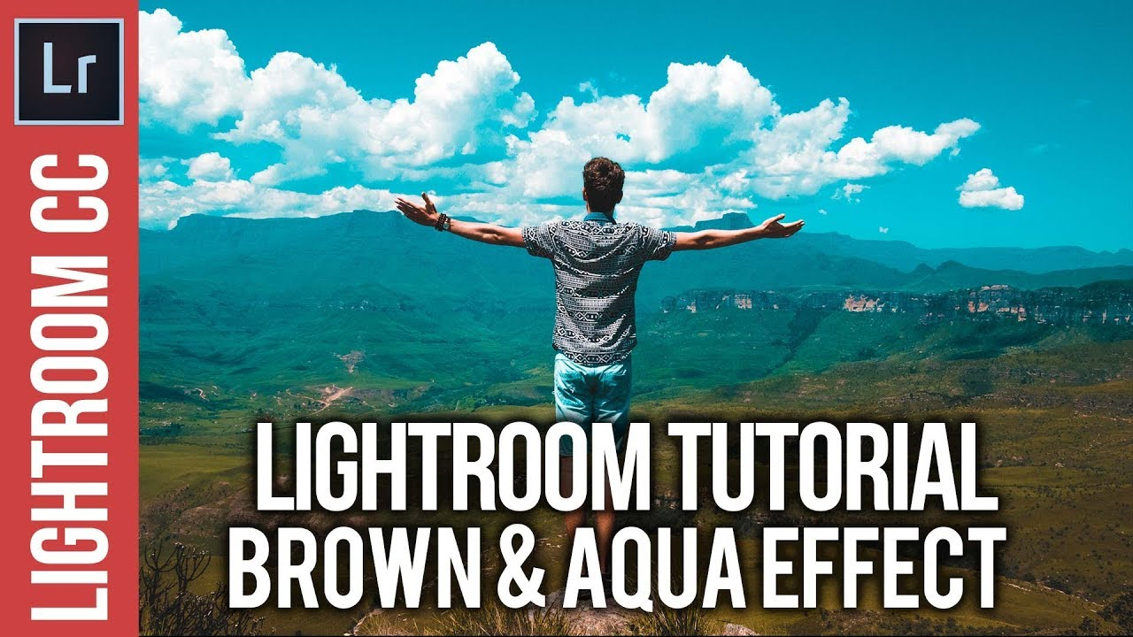 Lightroom: Create a Brown & Aqua Cinematic Style