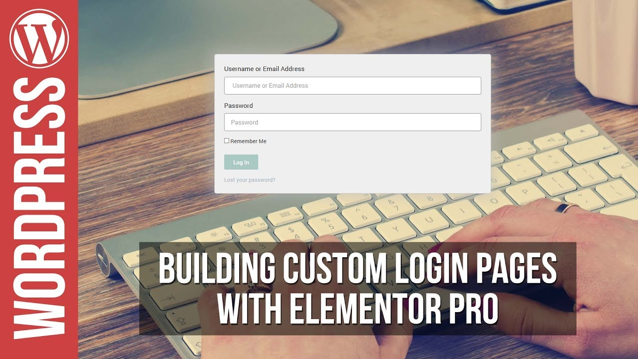 How To Banish Boring WordPress Login Pages with Elementor
