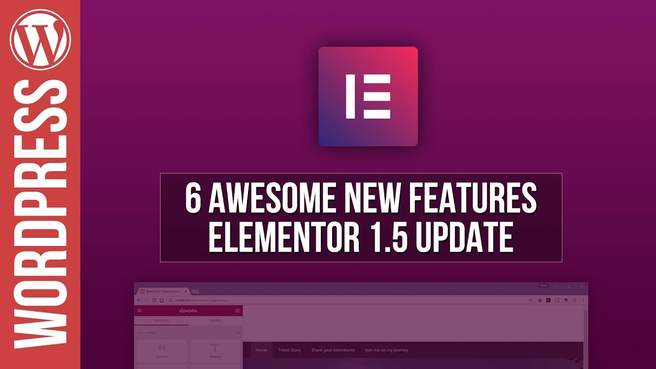 6 Awesome new Features in Elementor 1.5 Update