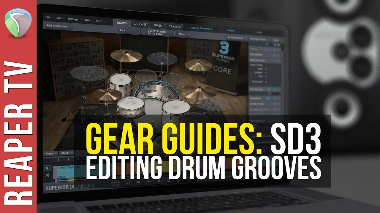 Creative Drum Grooves with Superior Drummer 3