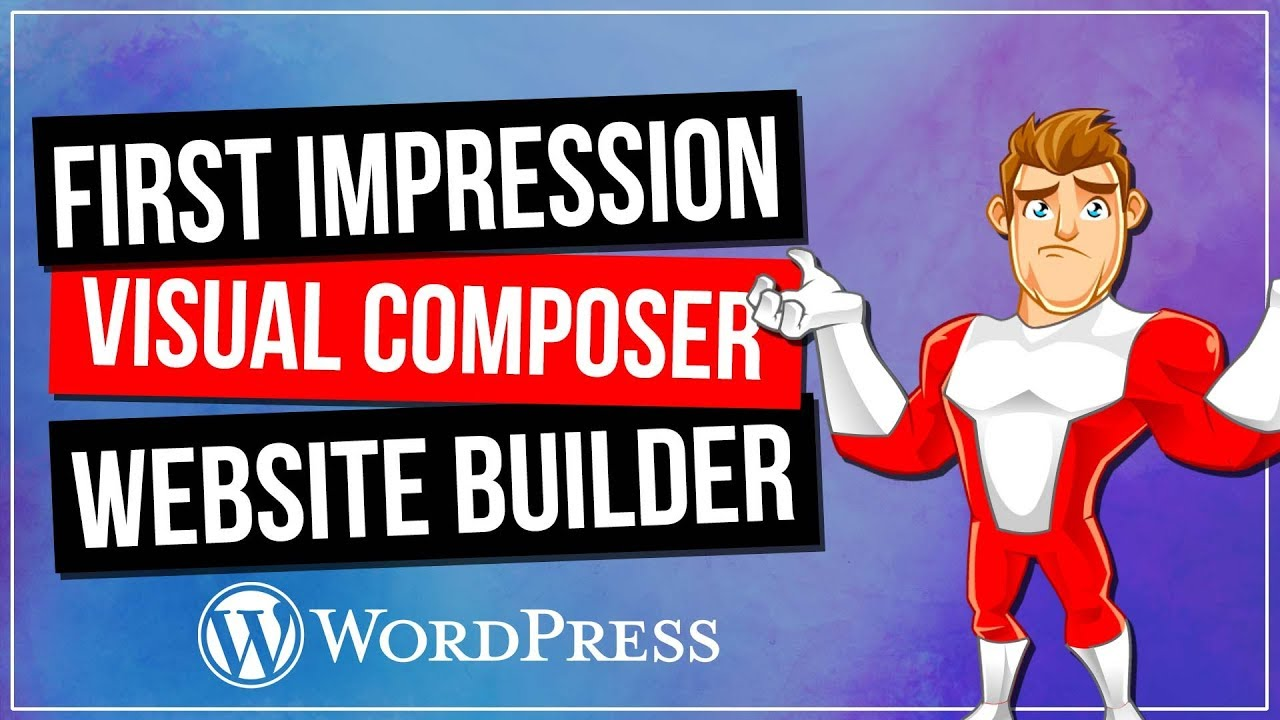 VISUAL COMPOSER: Website Builder – First Impressions & Demo