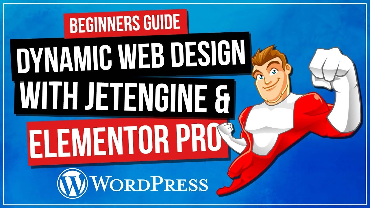 How To Create Dynamic WordPress Website | Elementor Pro & Jet Engine
