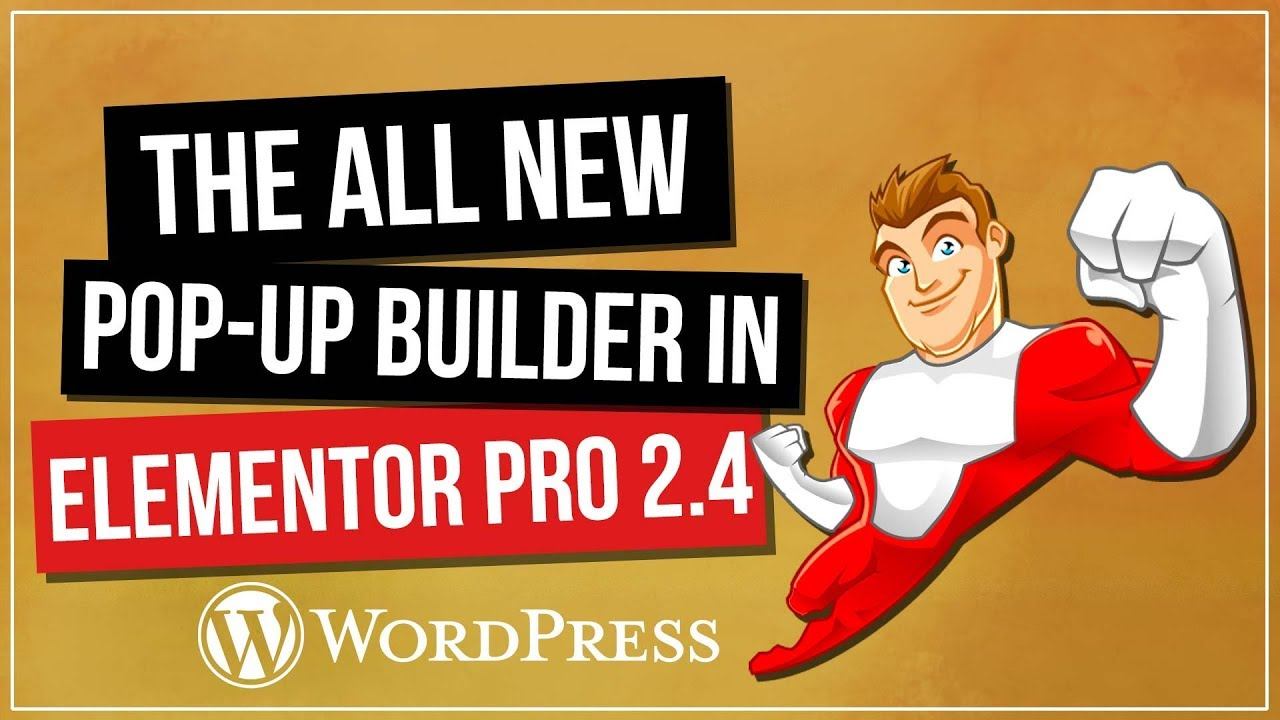 ELEMENTOR PRO 2.4 – The All New Pop-Up Builder